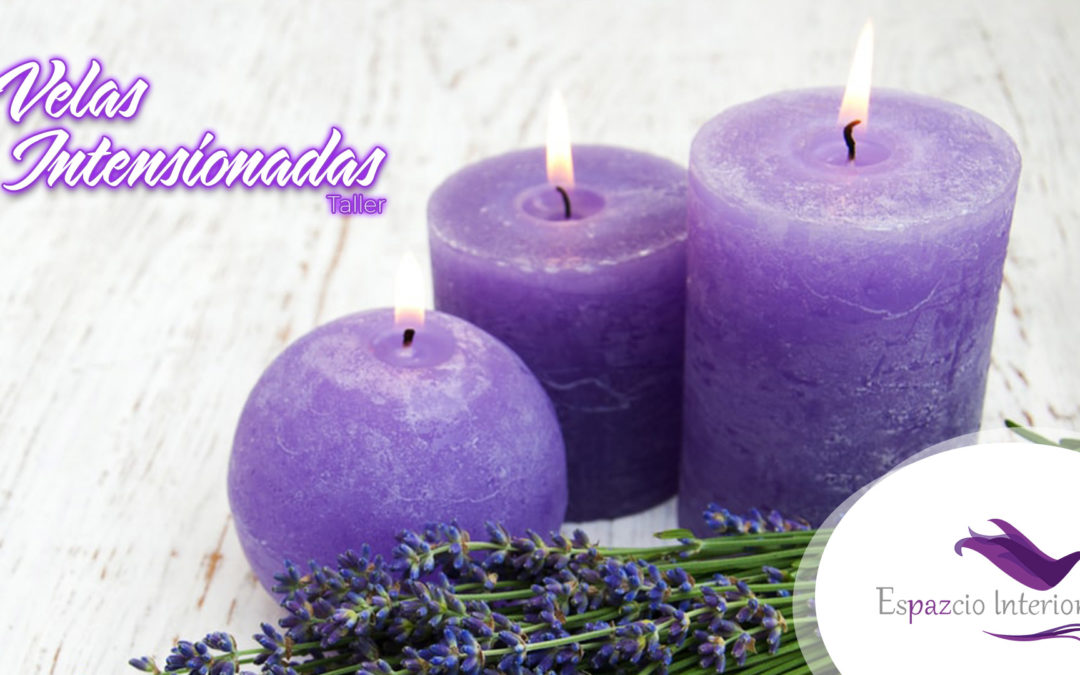 Velas con intención y aromaterapia